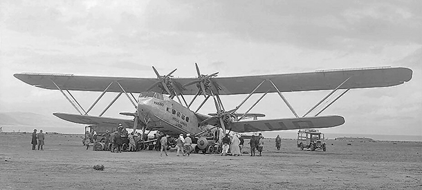 "Imperial Airways' Handley Page H.P.42 ""Hanno"""