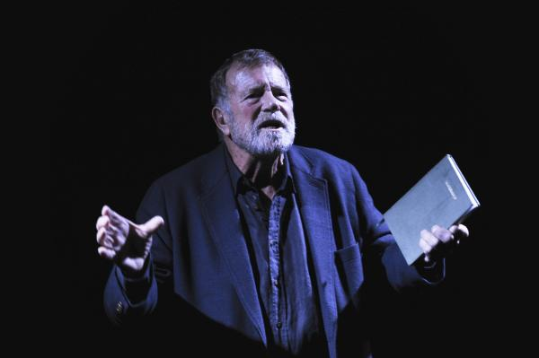 "Jack Thompson ""begins at the beginning"" Sydney Theatre Company's Under Milk Wood. Photographer: Heidrun Löhr © 2012"