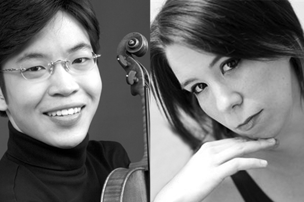 Paul Huang and Jessica Osborne