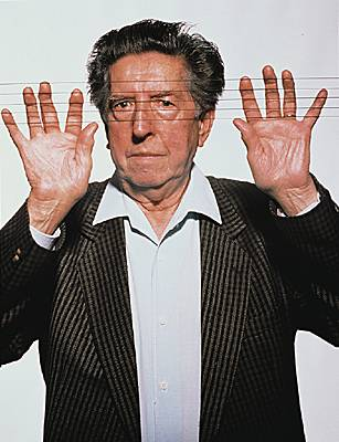 Henri Dutilleux in 1993. Photo © Ulf / Gamma