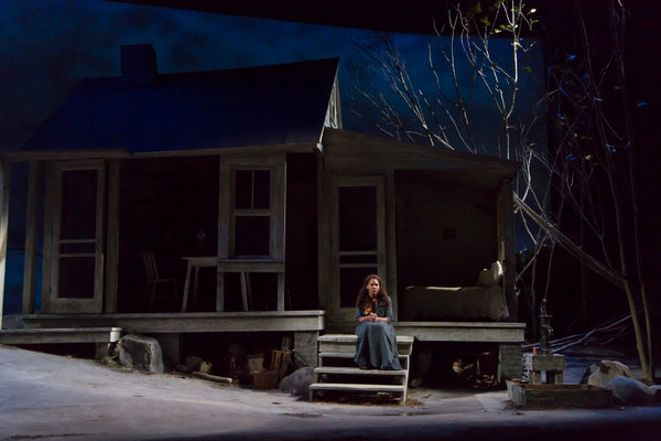 "udra McDonald in ""A Moon for the Misbegotten."" Photo T. Charles Erickson."