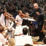 Dima Slobodeniouk leads the BSO in Sibelius' Symphony No. 1. Photo Hilary Scott.