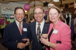 Tony Simotes with Joel and Kate Millonzi