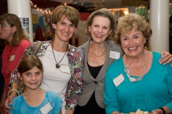 Eve Strickberger, Deborah Miller, Helen Bergerr and Elayne Bernstein