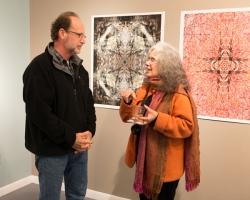 Christopher Vasquez and Joanna Gabler. Photo 2013 Michael Miller.