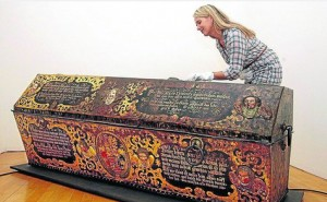 The Sarcophagus of Heinrich Posthumus Reuß
