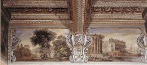 Agostino Tassi, Landscape Frieze, Palazzo Lancelotti, Rome