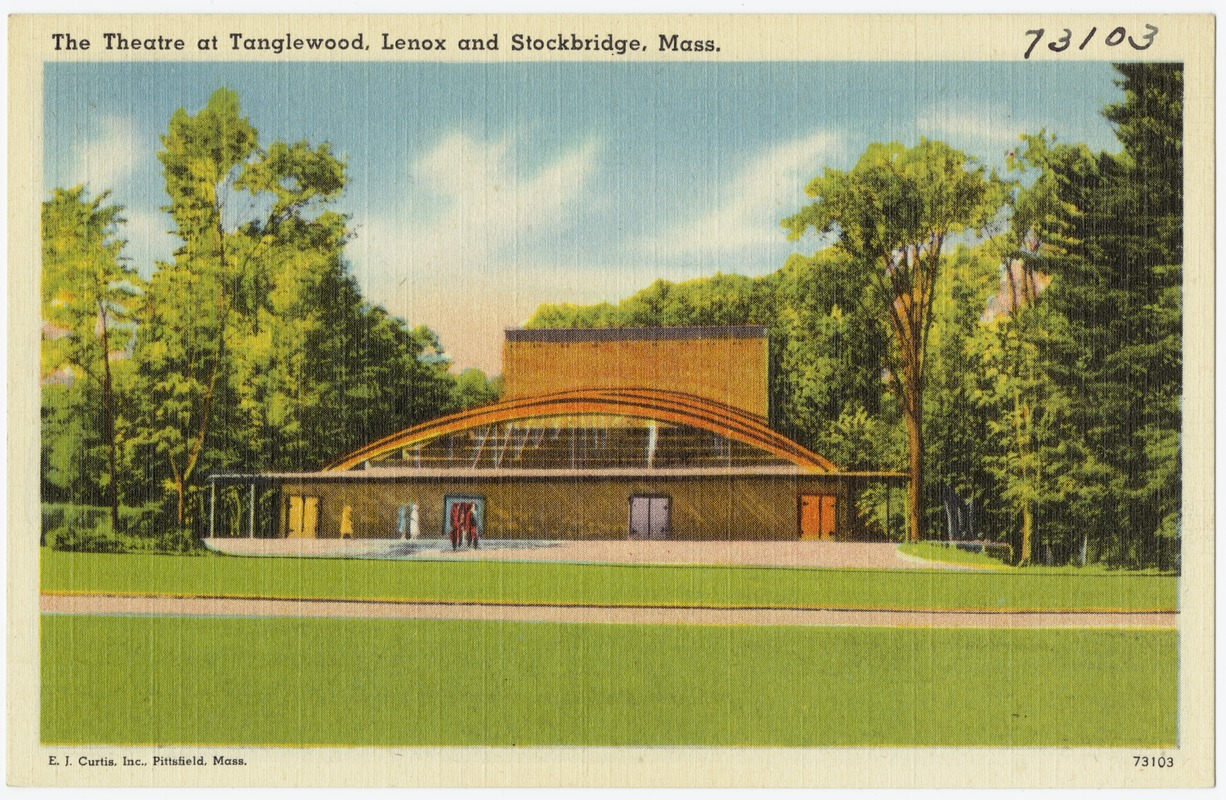 The Theatre at Tanglewood in Happier Days