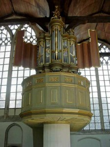 Oude Kerk, Amsterdam, Transept Organ, 1658/1964-5