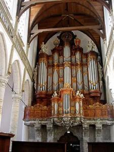 Oude Kerk, Amsterdam, Great (Vater-Müller) Organ, 1728/1738/1869