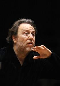 Riccardo Chailly in Rehearsal. Photo von Mothes.