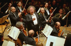 James Levine with the BSO. Photo Michael Lutch.