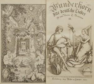 Des Knaben Wunderhorn, first edition, 1808
