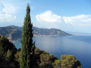 Alassio, on the gulf of Genoa