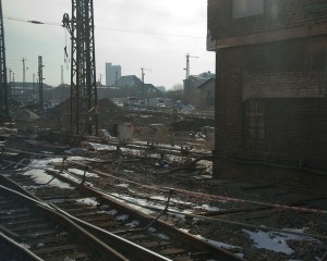 The Tracks at Chemnitz. Photo Michael Miller.