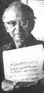 Composer George Perle