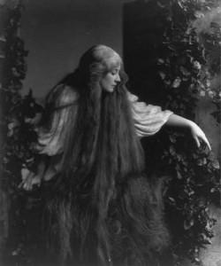 Mary Garden as Mélisande