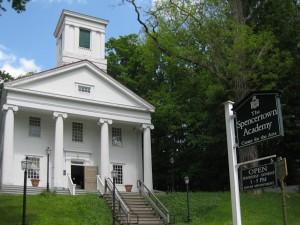 The Spencertown Academy. Photo © 2010 Nancy Salz.