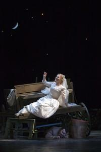 yubov Petrova as Susanna in Glimmerglass Opera's 2010 production of The Marriage of Figaro. Photo Karli Cadel/Glimmerglass Opera.