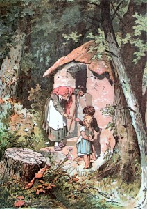 Hansel and Gretel by Alexander Zick (1845 - 1907).