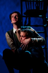 Will Rogers, Emma Rosenthal in Our Town at the Williamstown Theatre Festival. Photo by T. Charles Erickson.