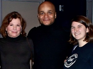 4-time Academy nominee, Marsha Mason with Omar Sangare and Williams student Amanda O'Connor at Dialogue ONE Festival 2009.