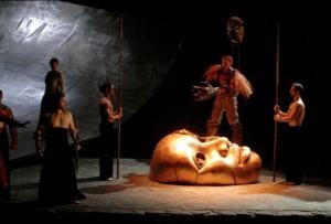 From Das Rheingold, Frankfurt, 1985-8, directed by Ruth Berghaus, Axel Manthey, designer