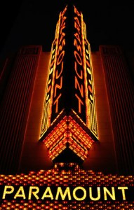 Paramount Theater: Marquee