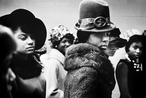 Leonard Freed, New York, 1963, Harlem fashion show