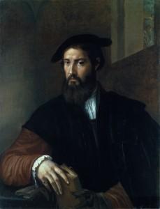 Parmigianino (1503–1540), Portrait of a Man, c. 1530, oil on canvas.