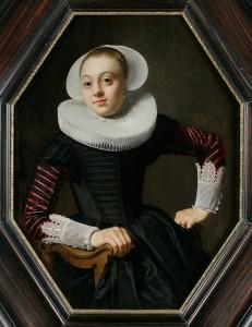 Thomas de Keyser (Dutch, c. 1596–1667), Portrait of a Young Woman, c. 1630–33. Oil on panel.