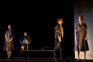 """Doubled Kowalskis in """"A Streetcar Named Desire"""" at WilliamsTheatre. Photo 2011 Damia Stewart."""