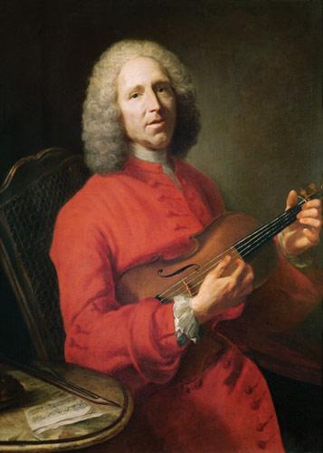 Attributed to Jacques André Joseph Aved. Jean-Philippe Rameau (Dijon 1683- Paris 1764). Musée des Beaux-Arts, Dijon.