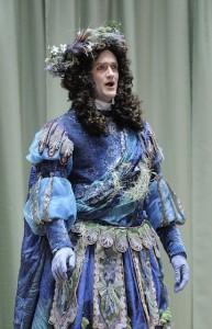 Aaron Sheehan as the transformed Acis. Photo David Walker 2009.