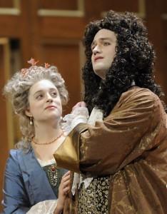 Teresa Wakim ad Galatea and Aaron Sheehan as Acis. Photo David Walker 2009.