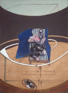 Francis Bacon, Study for Portrait on Folding Bed, 1963, Tate Modern.