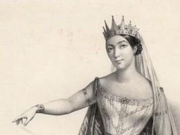 Giulia Grisi as Norma in Bellini's Opera