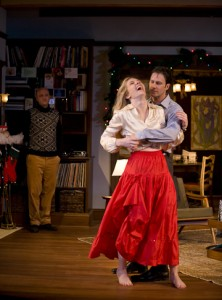 Michael Maher, Lily Rabe, and Josh Hamilton in A Doll's House at Williamstown Theatre Festival. Photo T. Charles Erickson.