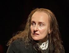 Seana McKenna as King Richard III at Stratford, Ontario. Photo Stratford Shakespeare Festivall/Daivd Hou.