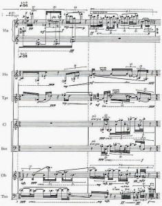 Brian Ferneyhough: Terrain Score, page 2
