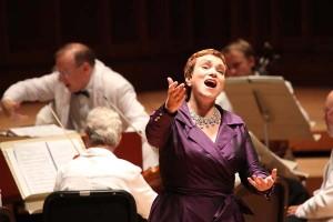 Dominique-Labelle Sings Angelica in Handel's Orlando, Nicholas McGegan Conducting. Photo Hilary-Scott.