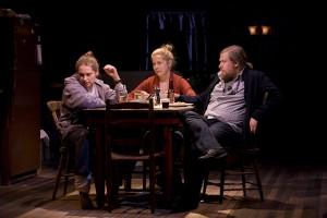 Merritt Wever, Lisa Joyce, Michael Chernus in Touch(ed) at Williamstown Theatre Festival. PhotoT. Charles Erickson.