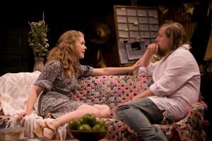 Lisa Joyce, Michael Chernus in Touch(ed) at Williamstown Theatre Festival. PhotoT. Charles Erickson.