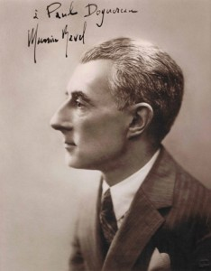 Maurice Ravel in 1930