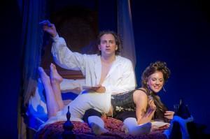 Graham Rowat and Analisa Leaming. Photo Kevin Sprague, 2011.