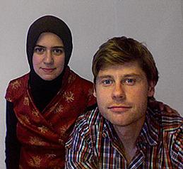 Selva Gurdogan and her Danish-born husband Gregers Tang Thomsen