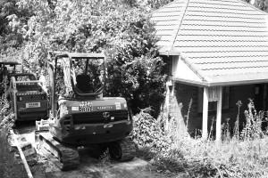 A house in Ku-ring-gai awaits development. Photo © 2011 Alan Miller.