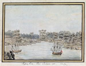 William Bradley, Sydney Cove Port Jackson, 1788.