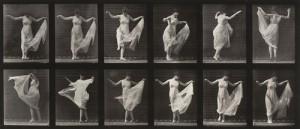 Eadweard J. Muybridge (American, born England. 1830-1904), Woman Dancing (Fancy): Plate 187 from Animal Locomotion (1887) .