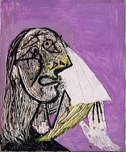 La femme qui pleure, 1931.